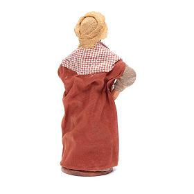 Donna incinta 12 cm presepe napoletano s4