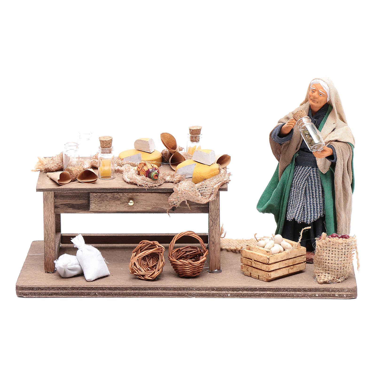 Grocery shop Neapolitan Nativity 4