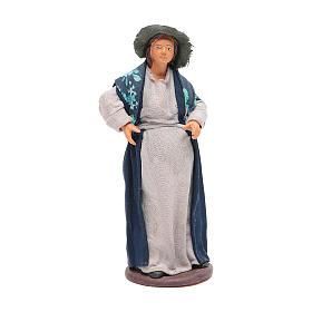 Pregnant woman 14cm Neapolitan Nativity s1