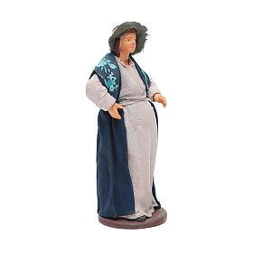 Pregnant woman 14cm Neapolitan Nativity s4