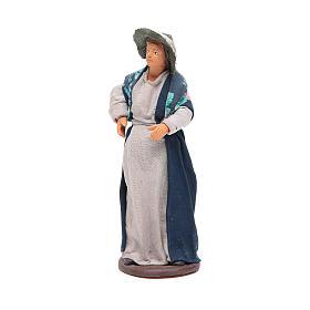 Pregnant woman 14cm Neapolitan Nativity s2