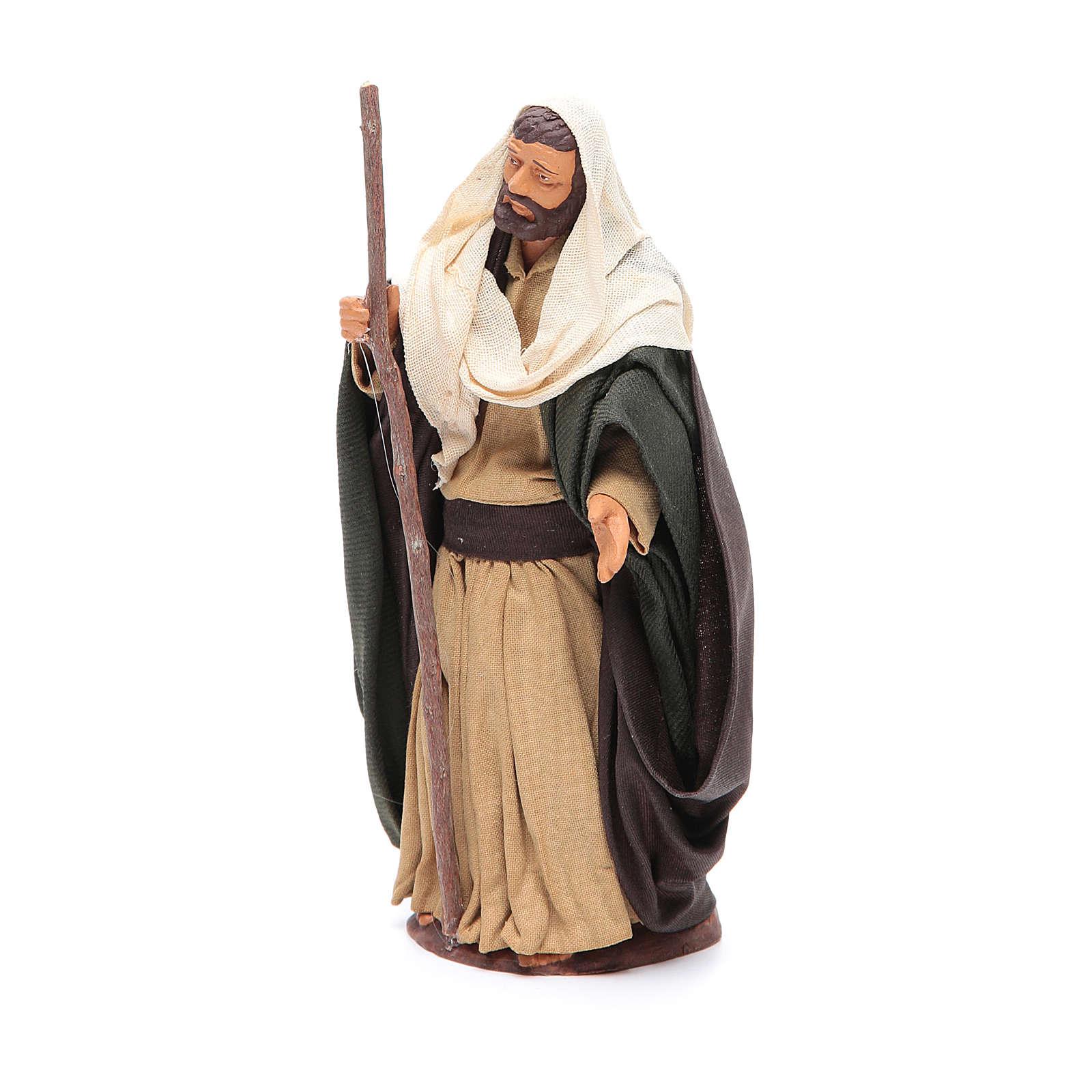 San Giuseppe 14 cm presepe napoletano 4