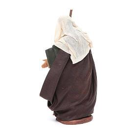 San Giuseppe 14 cm presepe napoletano s3