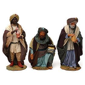 Three Wise Men for Neapolitan Nativity scene 24 cm s8