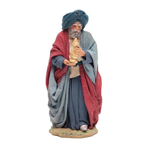 Three Wise Men for Neapolitan Nativity scene 24 cm 5
