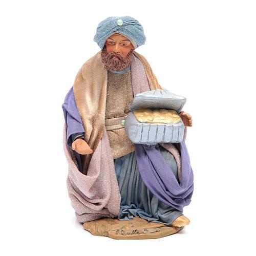 Three Wise Men for Neapolitan Nativity scene 24 cm 7