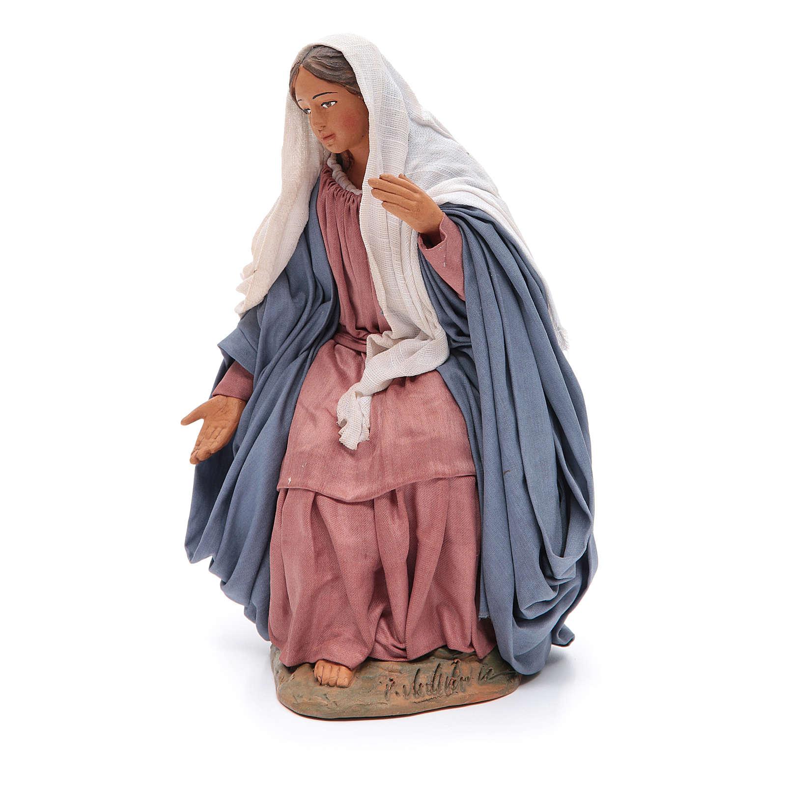 Virgen 30 cm belén napolitano 4