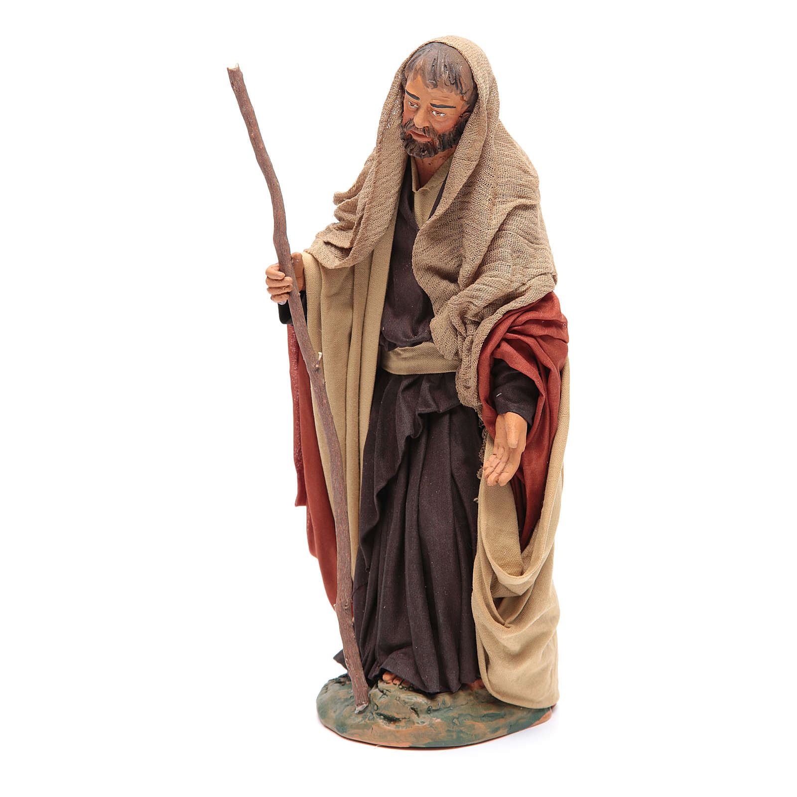 San Giuseppe 30 cm presepe napoletano 4