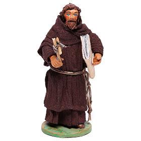 Frair statue 12 cm for Neapolitan nativity scene s1