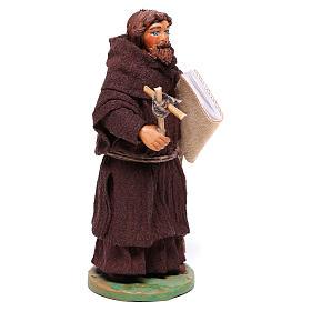 Frair statue 12 cm for Neapolitan nativity scene s4