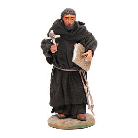 Estatua fraile 12 cm belén napolitano s1
