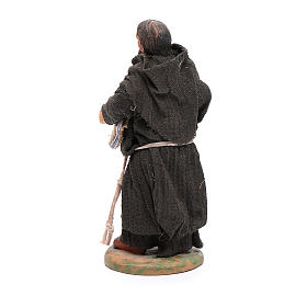 Estatua fraile 12 cm belén napolitano s3
