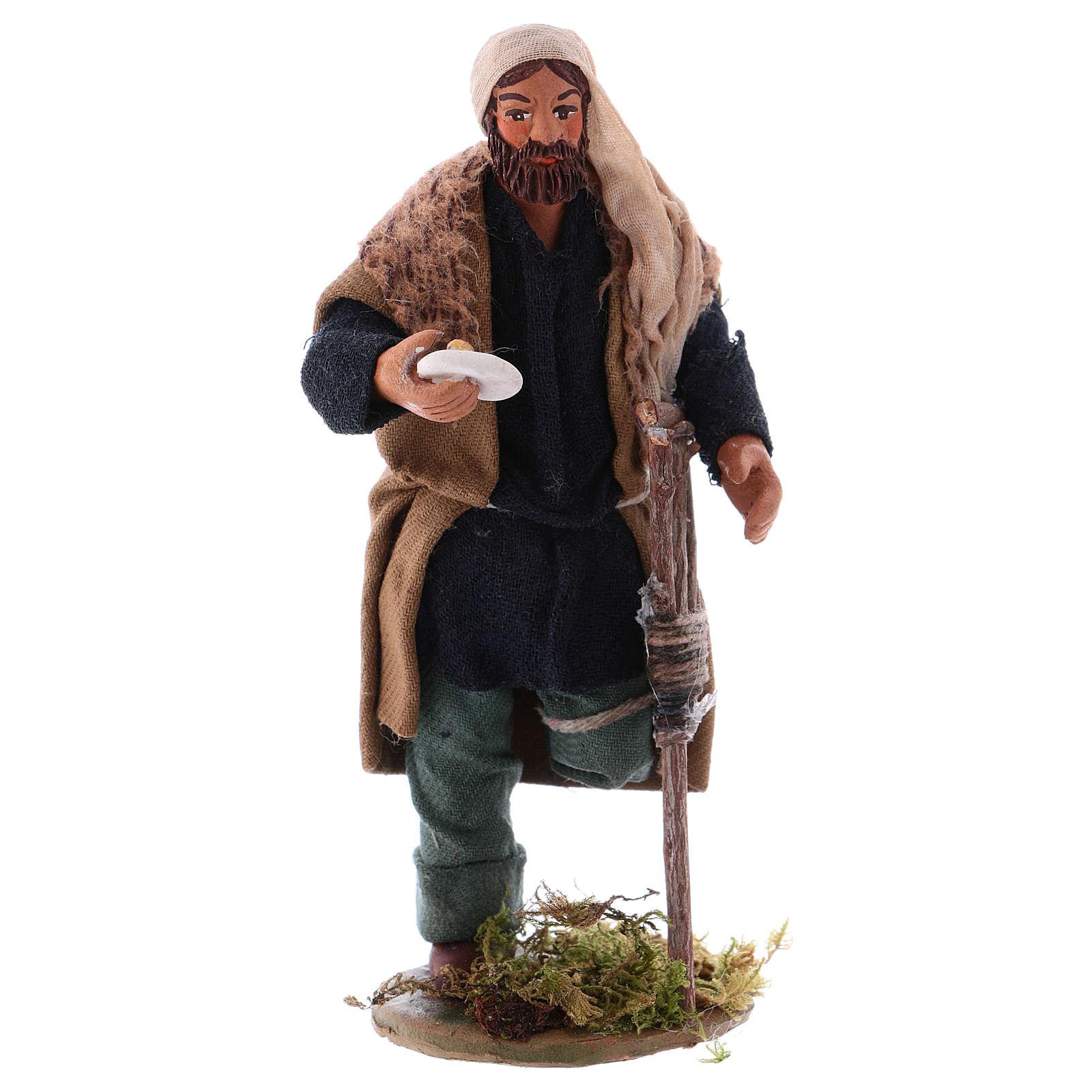 Crippled shepherd 12 cm for Neapolitan nativity scene 4