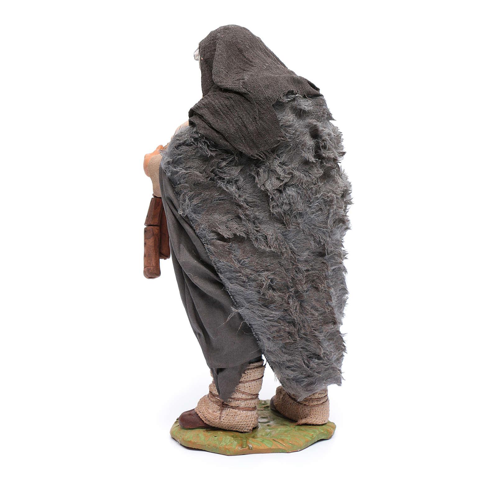 Bagpiper 24 cm for Neapolitan nativity scene 4