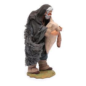 Statuina di zampognaro, 24 cm presepe napoletano s4
