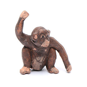Miniature monkey 3 cm for Neapolitan nativity scene s1