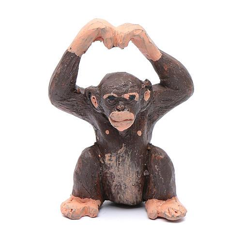Scimmia 5 cm presepe napoletano 1