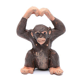 monkey for Neapolitan nativity scene 5 cm s1