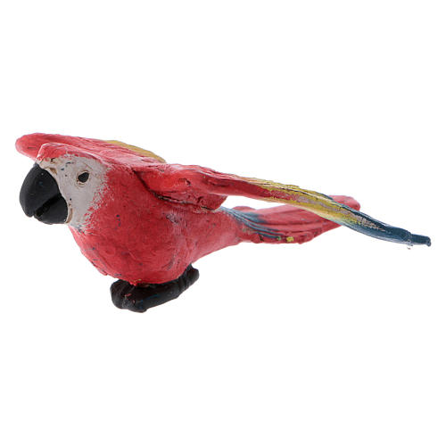 Parrot with open wings for Neapolitan nativity scene 5