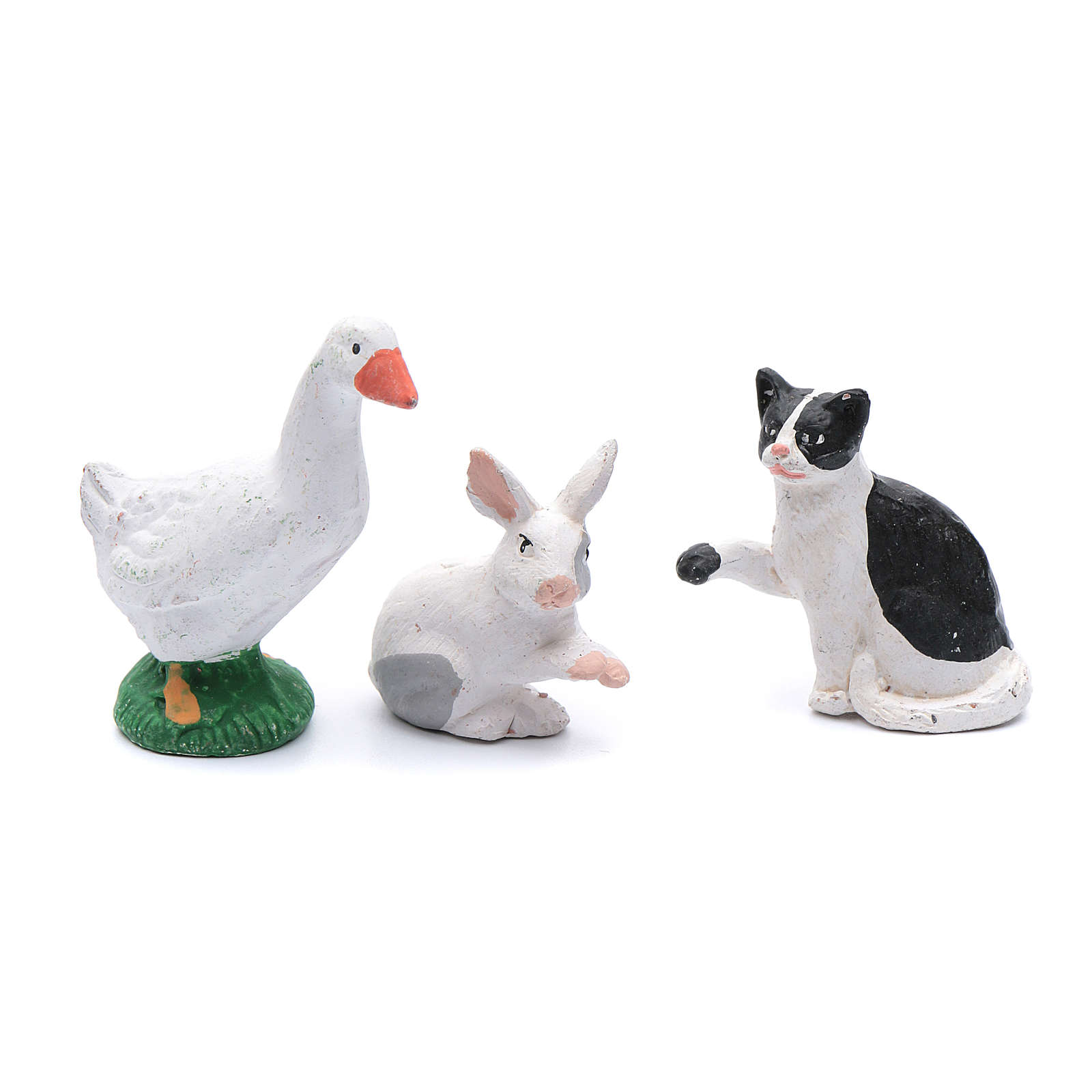 Kit with 5 animal items for DIY nativity scene 12 cm 4