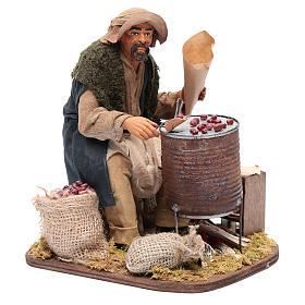 Chestnut seller 30 cm for Neapolitan nativity scene s4