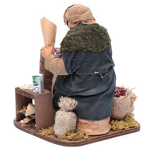 Chestnut seller 30 cm for Neapolitan nativity scene 3
