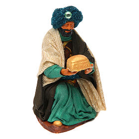 Neapolitan nativity scene Three Wise Men 12 cm s4