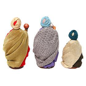 Neapolitan nativity scene Three Wise Men 12 cm s5