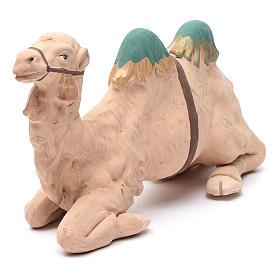 Neapolitan nativity scene decorated sitting camel in terracotta 24 cm s4