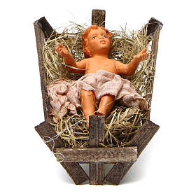 Neapolitan nativity scene Holy family 30 cm s4