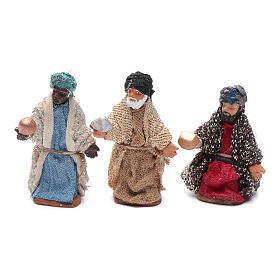 Neapolitan nativity scene kit 10 pieces 5 cm s3
