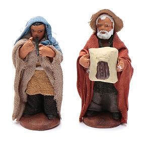 Neapolitan nativity scene kit 10 pieces 5 cm s4