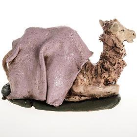 Cammello rosa terracotta 18 cm s2