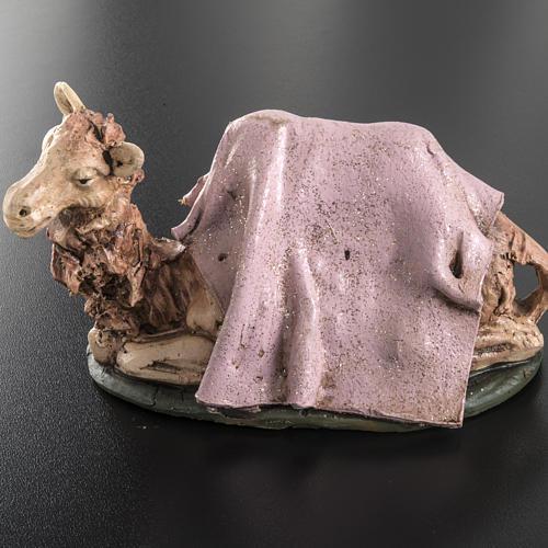 Cammello rosa terracotta 18 cm 3