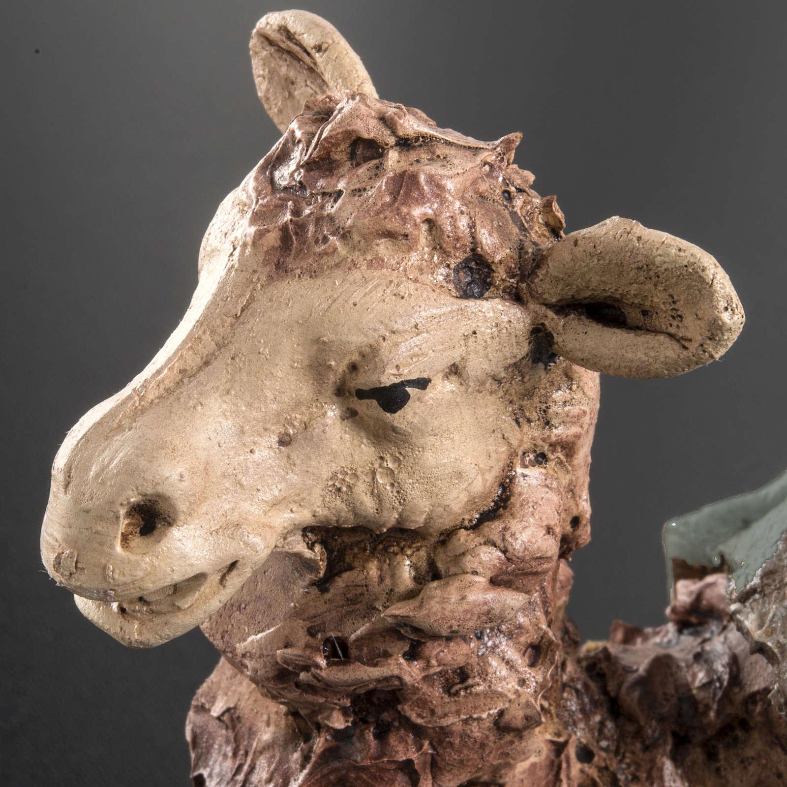 Green camel terracotta 18 cm 4