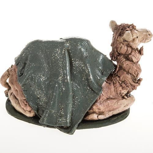 Green camel terracotta 18 cm 2