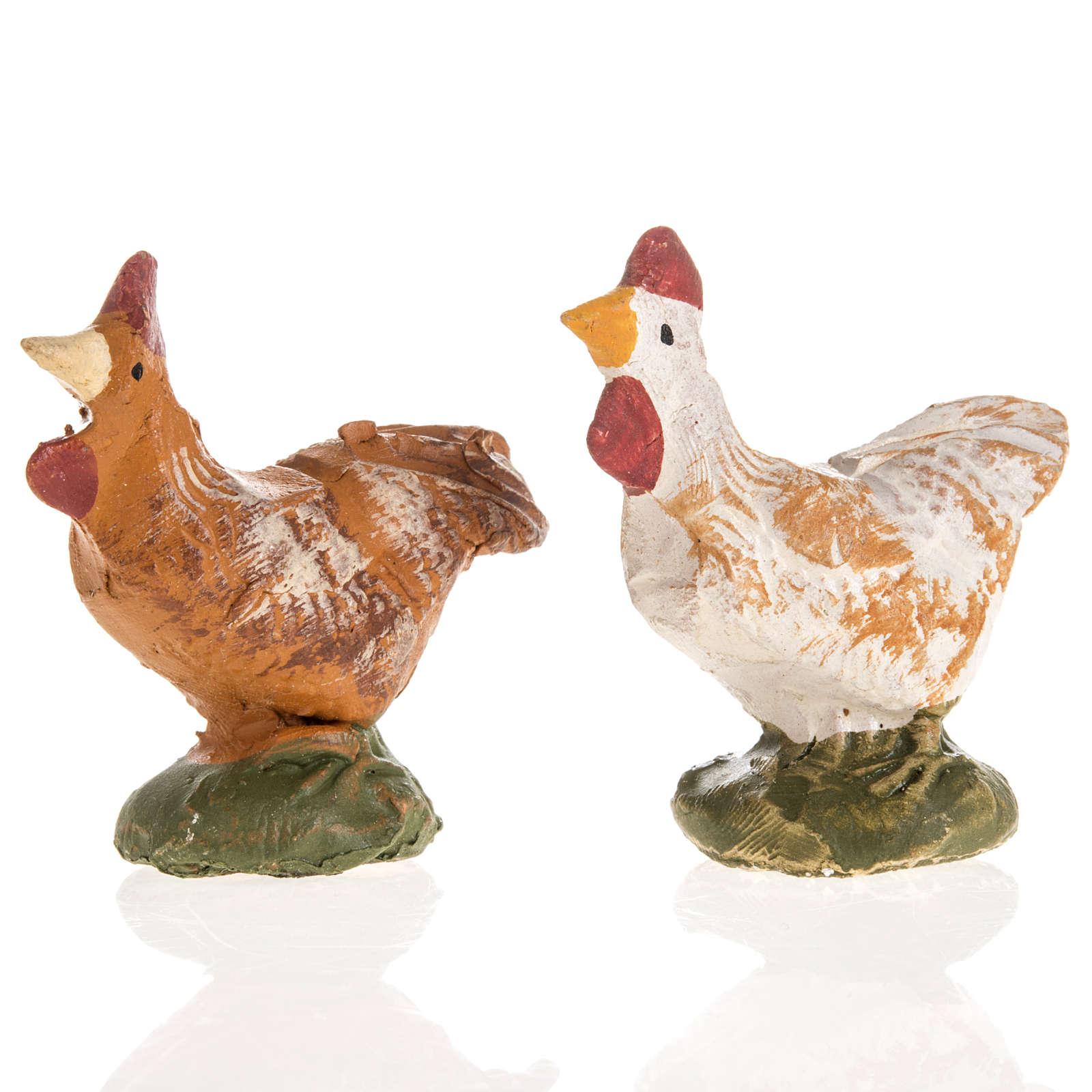 Gallo terracotta Deruta 18 cm 4