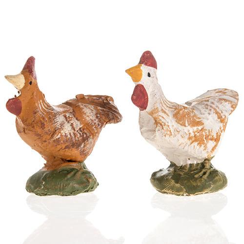 Gallo terracotta Deruta 18 cm 1