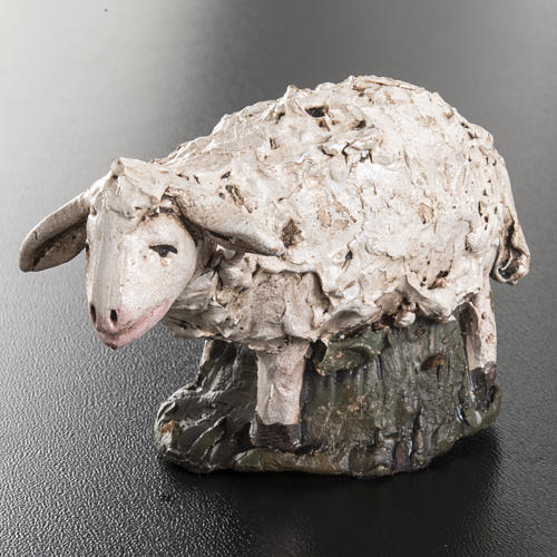 Sheep Deruta terracotta 18 cm 2