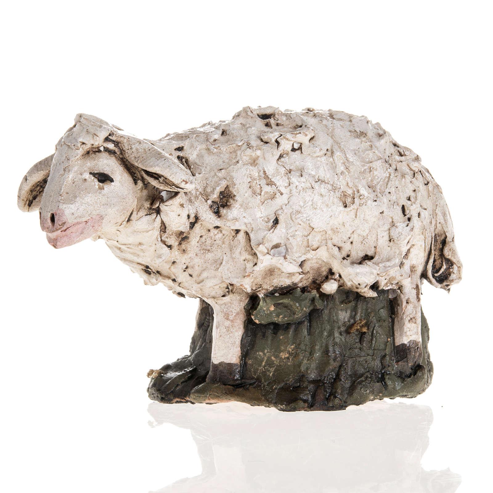Pecora terracotta Deruta 18 cm 4