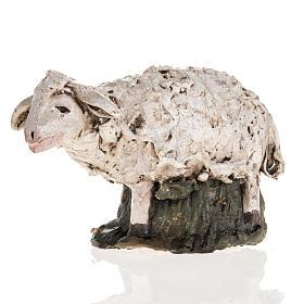 Pecora terracotta Deruta 18 cm s1
