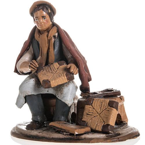 Shoe repairer Christmas crib terracotta 18 cm 1