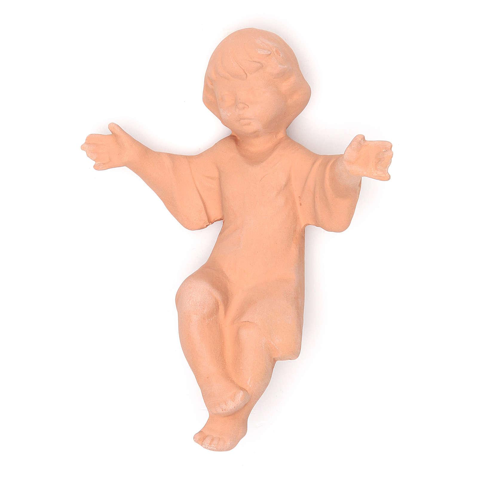 Nacimiento en terracota 40 cm - 5 figuras 4