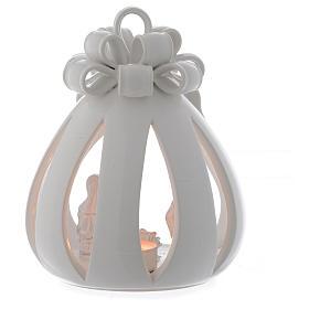 Lanterna saco Sagrada Família terracota Deruta 17 cm s2