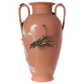 Anfora natività terracotta presepe Deruta 50 cm s4