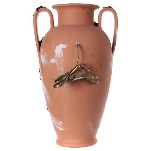 Anfora natività terracotta presepe Deruta 50 cm 4