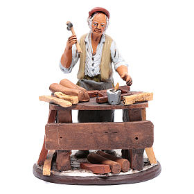 Nativity Scene figurine, cabinet-maker 18cm Deruta s1
