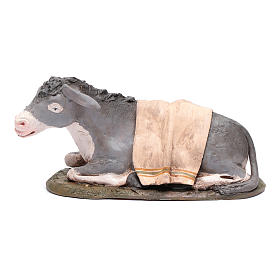 Nativity Scene figurine, donkey 30cm Deruta s1