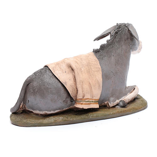 Nativity Scene figurine, donkey 30cm Deruta 3