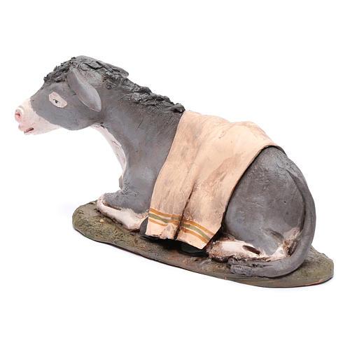 Nativity Scene figurine, donkey 30cm Deruta 2